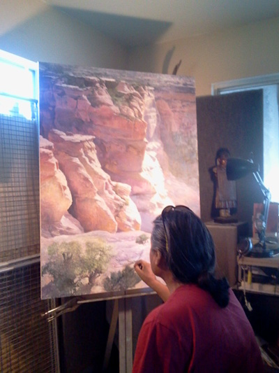 Fine Art By Nelson Tsosie Navajo About The Artist